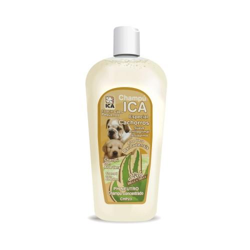 Champú para cachorro con Aloe Vera