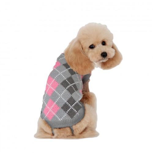 Jersey de punto con rombos de ALPHA DOG