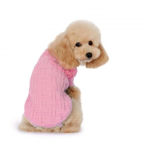 Jersey de punto con trama rosa de ALPHA DOG