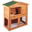 Casetas de madera para conejos